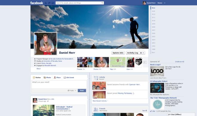 Dan Herr's Facebook Page