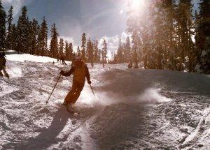 Steve Herr Skiing