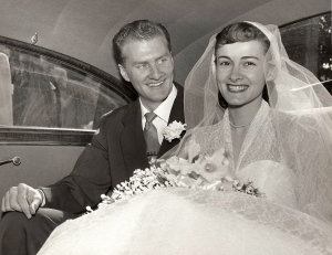 Grandma and Grandpa Foster on their Wedding Day