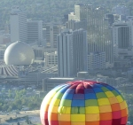 Balloon Downtown Reno Skyline